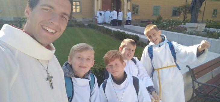 Kazincbarcikai ministránsok az egyházmegyei találkozón
